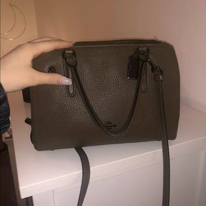 Barely Used Coach Bag - Olive